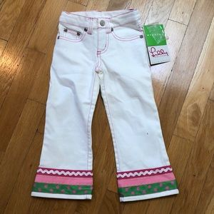 Lilly Pulitzer NWT stretch jeans size 2T